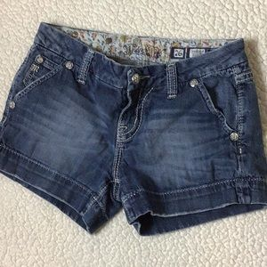 Miss Me Jean Shorts Size 26